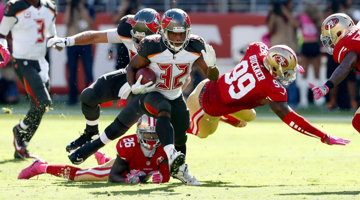 The Buccaneers take on the 49ers in the first of two NFC Wild Card games.
