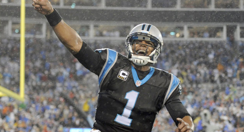 Cam Newton and the Carolina Panthers advance to the NFC Championship round