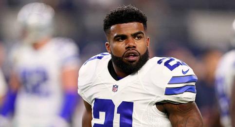Cowboys' Ezekiel Elliott suspended six games