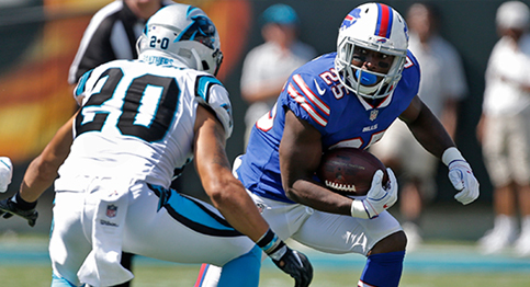When it Rains it Pours, Panthers Drown out Bills in a 19-0 Victory