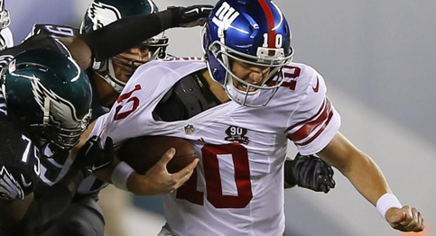 Eli Manning and his New York Giants lose third straight game