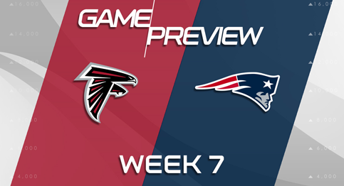 The New England Patriots will try to keep their perfect record alive as they take on the Atlanta Falcons.