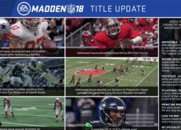 Madden NFL 18 Title update 1.04 available now
