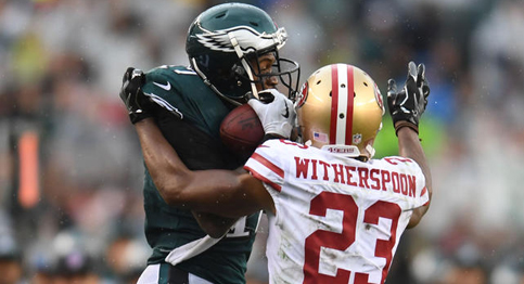 49ers pull off the upset on the road against the Eagles
