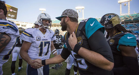 Jaguars come out on top in wild shootout game vs Chargers
