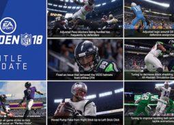 Madden NFL 18 November title update