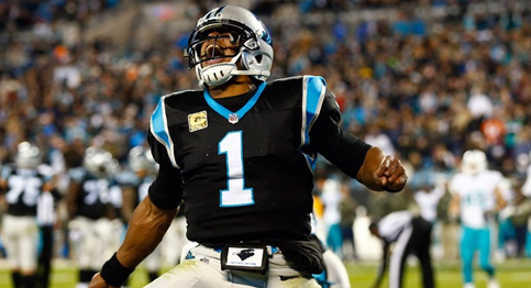 Cam Newton and the Panthers defeat Dolphins in a close one