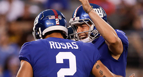 Christmas comes early as Giants get second win of the season