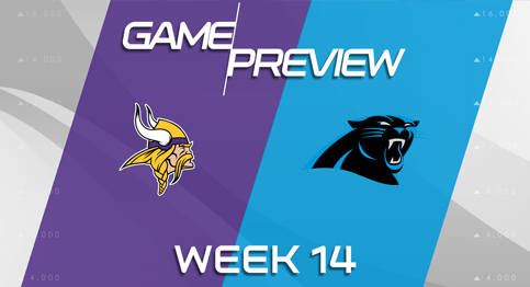 Panthers take on the Vikings in key game towards a playoff birth