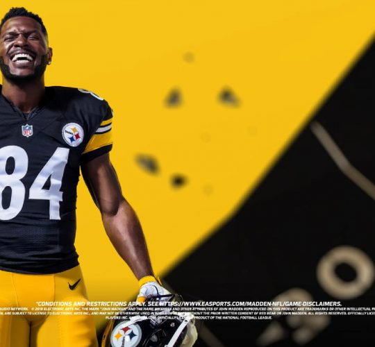 Behind the Scenes of the Madden 19 Cover – Antonio Brown