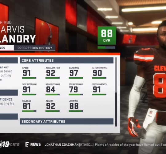 Madden 19 – Player ratings