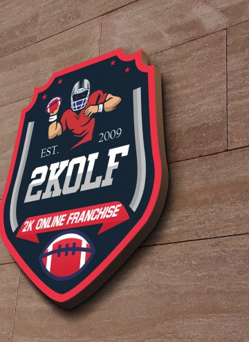 New logo at the head quarters of 2K OLF