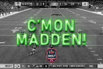 C'Mon Madden! Panthers INT, Fumble leads to unexpected 3rd down