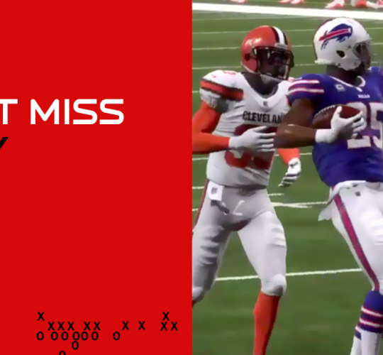 Can't Miss Play: LeSean McCoy breaks lose for an 87 yard touchdown run