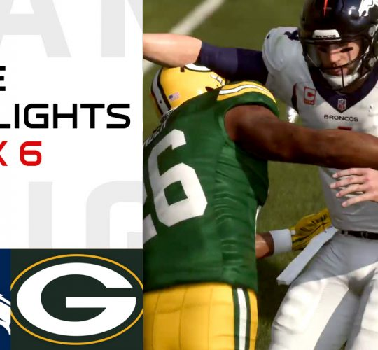 Broncos vs Packers Week 6 Highlights