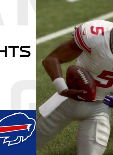 Giants vs Bills Week 6 Highlights