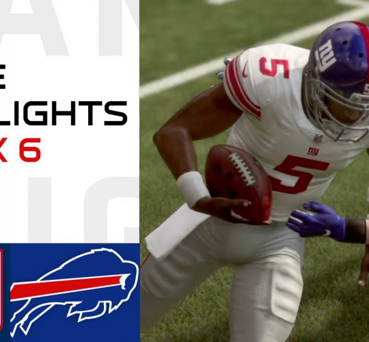 Giants vs Bills Week 6 Highlights