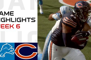 Lions vs Bears Week 6 Highlights