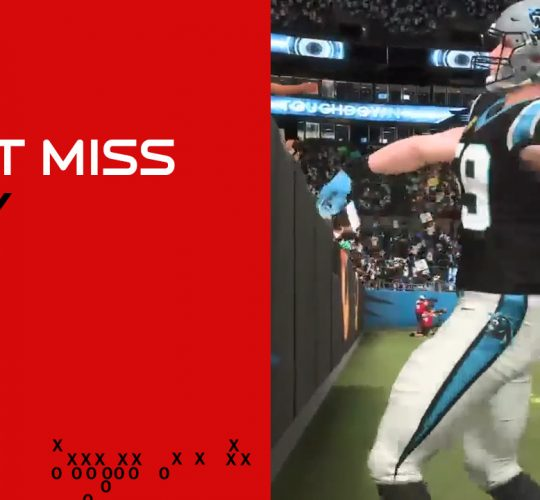 Can't Miss Play: Luke Kuechly interception touchdown