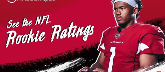 NFL Rookies React to Madden 20 Ratings: Ft Kyler Murray!
