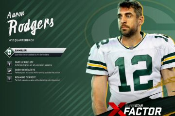 Aaron Rodgers Madden 20 X-Factors