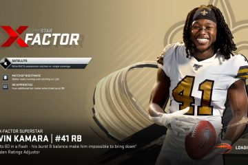 Alvin Kamara X-Factor Superstar