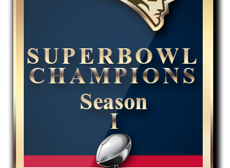 2K Online Franchise Super Bowl I Champions