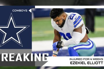 Ezekiel Elliott injured for 4 weeks
