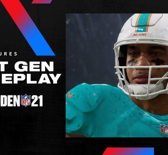 Madden 21 – Next Gen Gameplay Trailer